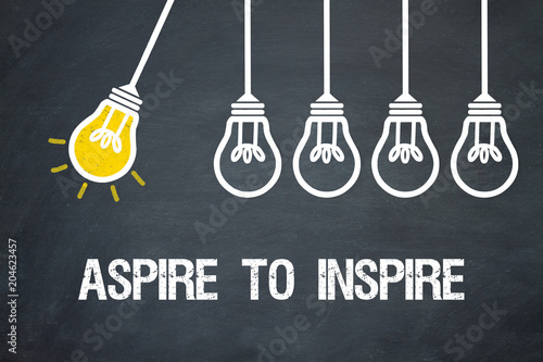 Aspire to Inspire Wallpaper Mural