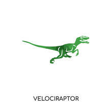 Velociraptor Logo Isolated On ...