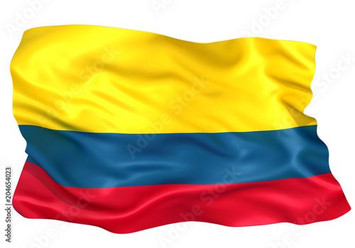 Fototapeta コロンビア国旗 obraz