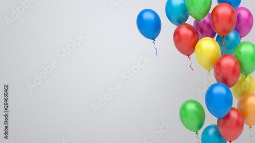 Fotografia, Obraz  Colorful balloons background
