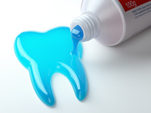 Toothpaste In The Shape Of Too...