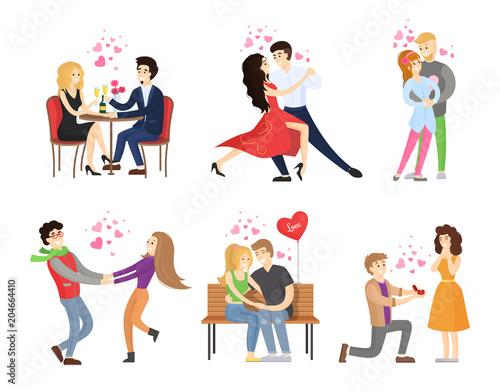 Boyfriend Girlfriend Rest Restaurant Dance Tango Poster
