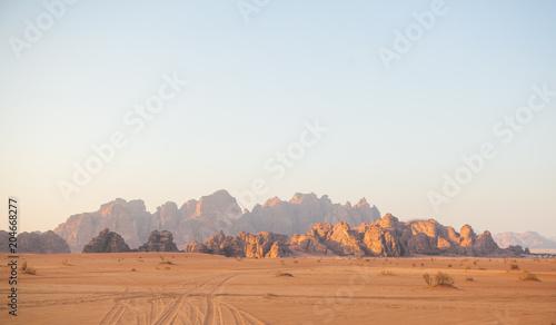 Foto op Plexiglas Midden Oosten Wadi Rum, Jordan.