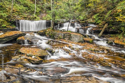 Valokuva  Delaware Falls at Ricketts Glen, Pennsylvania