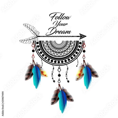 lapacz-snow-kolorowe-piora-indianski-styl-boho