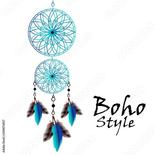 niebieski-lapacz-snow-w-stylu-boho-indianski-symbol