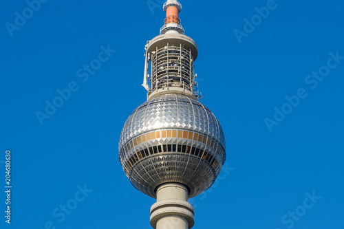Photo  Tv Tower (Fernsehturm) in  Berlin