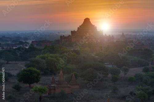 Keuken foto achterwand Asia land Dhammayangyi Temple in Bagan, Myanmar
