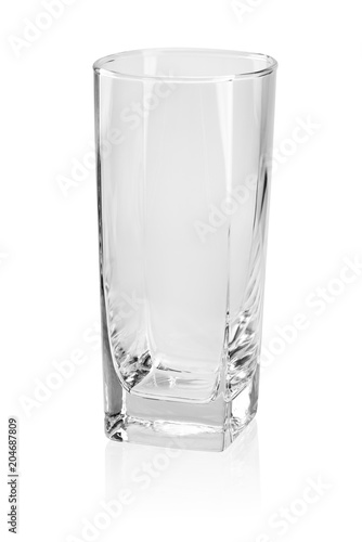 Fotografie, Obraz Empty drink glass