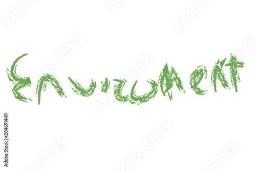 Medio ambiente en verde.