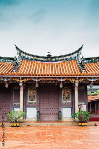 Taiwan Confucian Temple in Tainan, Taiwan Tapéta, Fotótapéta