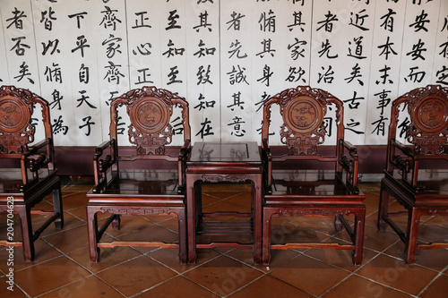 Valokuva Tainan, Taiwan - May 9, 2018 : Taiwan Confucian Temple