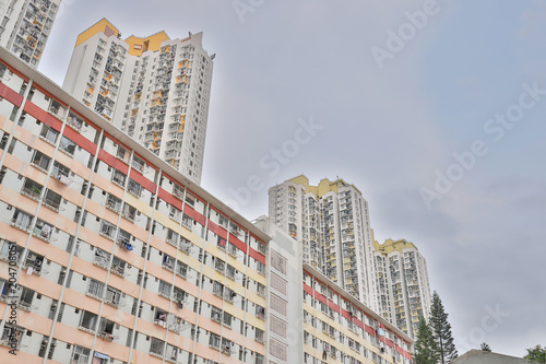 Photo  Hosue view at Shek Kip Mei hong kong
