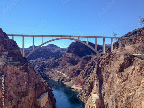 Papiers peints Route 66 Hoover dam bridge