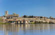 Catherdral on the riverside of Zamora, Spain