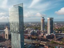 Manchester City Centre Drone A...