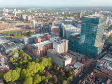 Manchester City Centre Drone A...