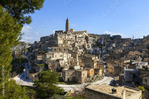 Foto op Plexiglas Historisch geb. Matera