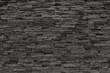Black masonry texture