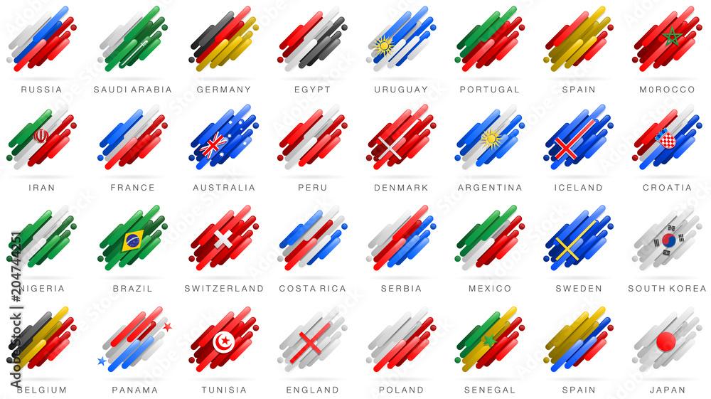 europa länder flaggen zum ausmalen