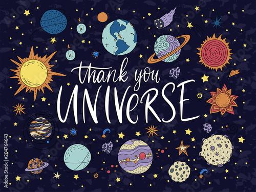 handdrawn-napis-cytat-z-ilustracjami-galaktyki