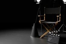 Director Chair,Megaphone,Movie...