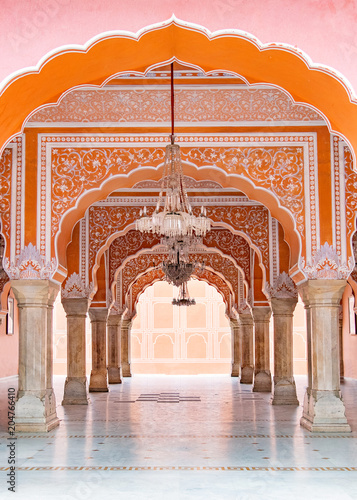 Jaipur city palace in Jaipur city, Rajasthan, India Canvas-taulu