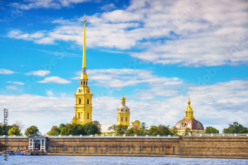 Papiers peints Lieu connus d Asie The Peter and Paul Fortress in St.Petersburg, Russia