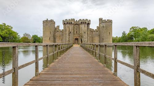 Foto auf AluDibond Historisches Gebaude Bodiam Castle, East Sussex