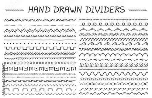 Photo  Hand Drawn Dividers