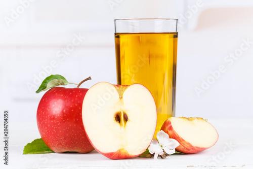 Papiers peints Apfelsaft Apfel Saft Äpfel Glas Fruchtsaft