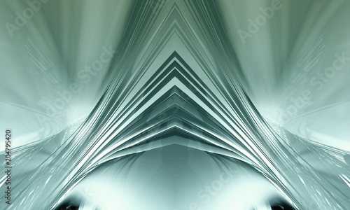 Photo 3D rendering of digital technology background