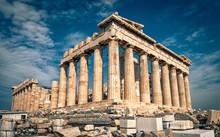 Parthenon On The Acropolis Of ...
