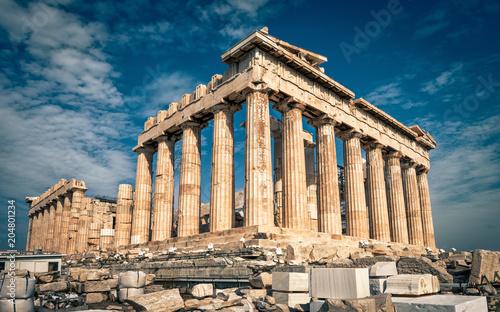 Parthenon on the Acropolis of Athens, Greece Wallpaper Mural