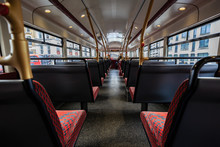 Inside The Red Bus In London