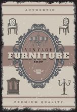 Vintage Furniture Shop Poster