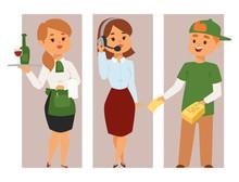 People Part-time Job Professio...