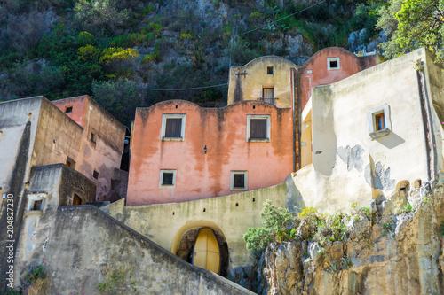 Fiordo Di Furore Beach Fjord Amalfi Coast Positano Naples Italy