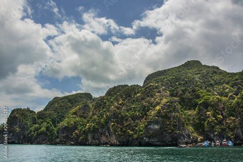 Keuken foto achterwand Khaki landscape of Island , Krabi Thailand