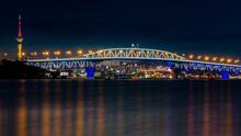 Auckland ,city Of Sails, At Ni...