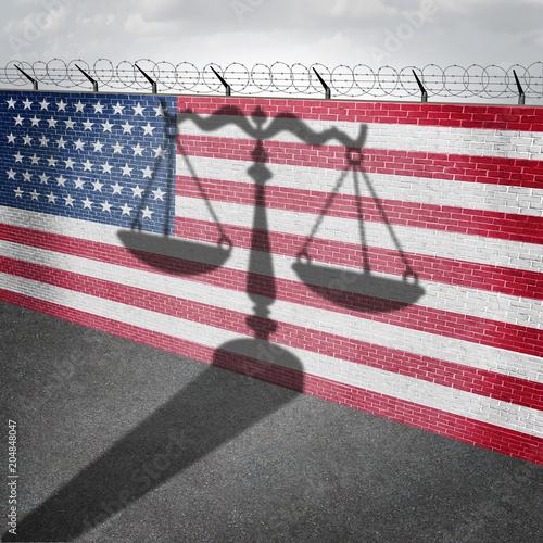 Valokuvatapetti United States Immigration Law