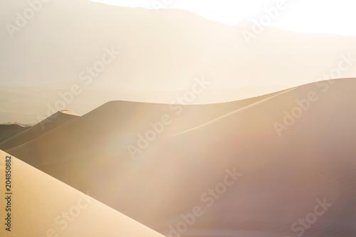Poster de jardin Desert de sable Sand dunes in California