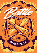 Hip-hop Battle Poster Design