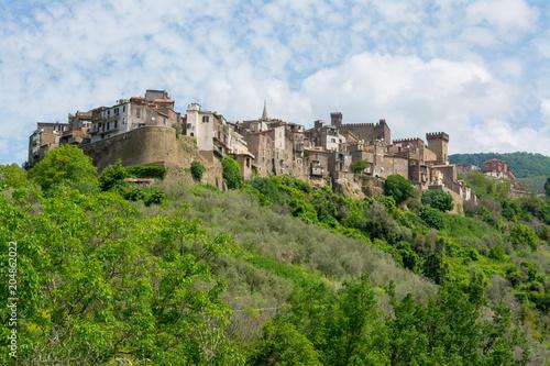 Foto op Aluminium Europese Plekken San Gregorio di Sassola, near Rome, Lazio. Italy