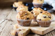 Breakfast Cornmeal Muffins With Raisins