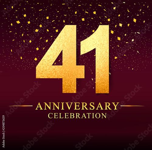 Fotografia  41 years anniversary