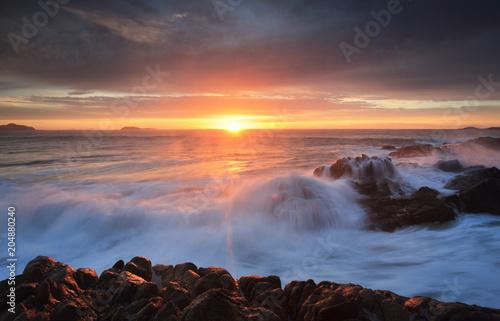 Garden Poster Sunrise skies Port Stephens