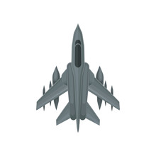 Powerful Fighter Jet. Fast Mil...