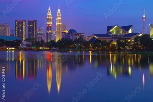 Cadres-photo bureau Kuala Lumpur Skyline Kuala Lumpur