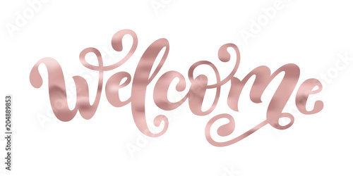 Welcome Fototapete